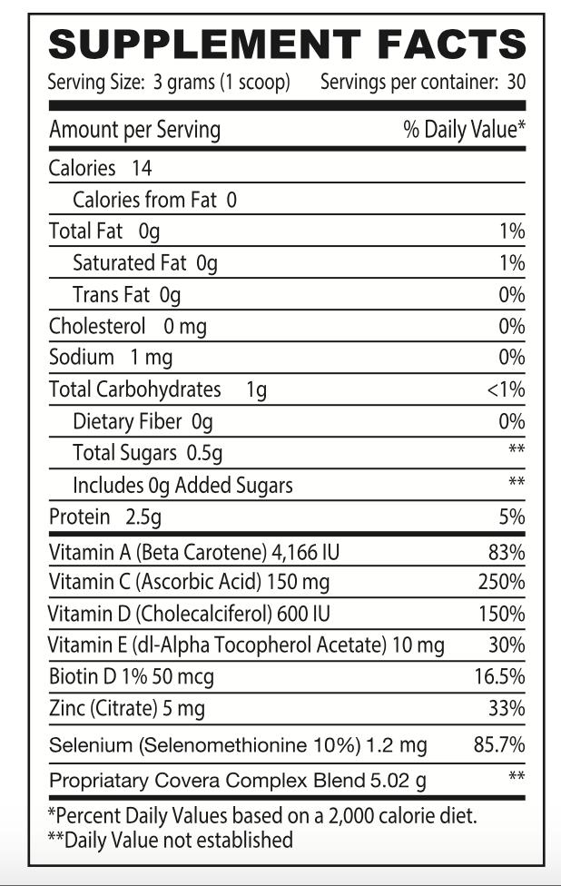 Premium Collagen Beauty Elixir Ingredients